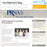 PRSA-NCC blog PR consultants